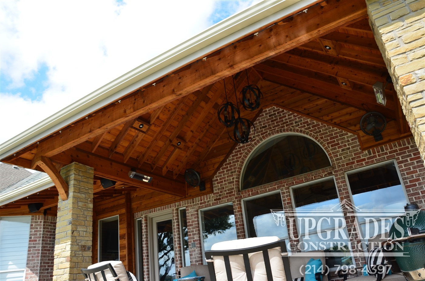 Building A Hip Roof Patio Cover Patio Ideas